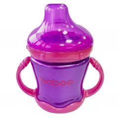 Кружка-поильник Baboo С носиком, с 6 месяцев, цвет: фиолетовый