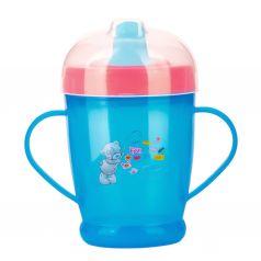 Кружка-поильник Baboo Me to You С носиком, с 9 месяцев, цвет: синий