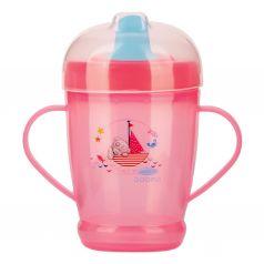Кружка-поильник Baboo Me to You С носиком, с 9 месяцев, цвет: розовый