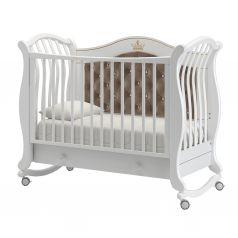 Кровать Гандылян Габриэлла, цвет: белый