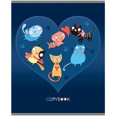 Тетрадь общая А5 48 Darvish Кошки в сердце