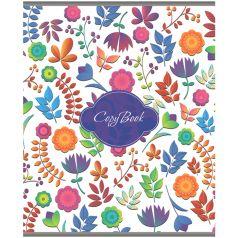 Тетрадь общая А5 48 Darvish Цветочный паттерн