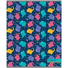 Тетрадь общая А5 48л клетка Darvish Веселые слоники