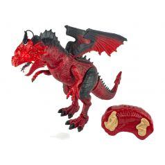 Игрушка на радиоуправлении 1Toy Робо Лайф Пламенный дракон
