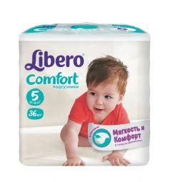 Подгузники Libero Comfort для девочек (10-16 кг) 36 шт.