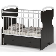 Кровать Атон Elsa, цвет: венге/белый