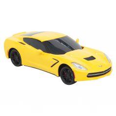 Машина на радиоуправлении Chevrolet Corvette C7 (желтая) Maxi Car