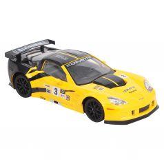 Машина на радиоуправлении Chevrolet Corvette C6 R, (желт) Maxi Car