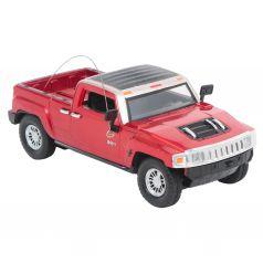 Машина на радиоуправлении Hummer H3 (красная) Maxi Car