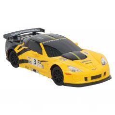 Машина на радиоуправлении Chevrolet Corvette R (желтая) Maxi Car