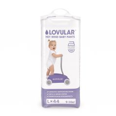 Трусики-подгузники Lovular Hot Wind р. L (9-14 кг) 44 шт.