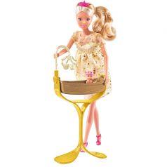 Кукла Simba Штеффи беременная, королевский набор 29 см