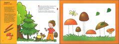 Книга-раскраска Мозаика-синтез Эмвм рисуем карандашами. Художественный альбом для занятий с детьми (1-3 лет) 1+