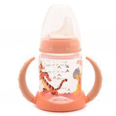 Бутылочка Nuk Disney First Choice полипропилен с 6 мес, 150 мл, цвет: оранжевый
