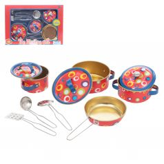Набор посуды Игруша для кукол (10 предметов)