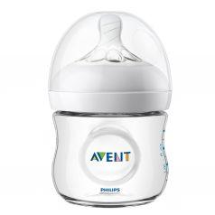 Бутылочка Avent Natural для кормления SCF030/17, полипропилен, 125 мл
