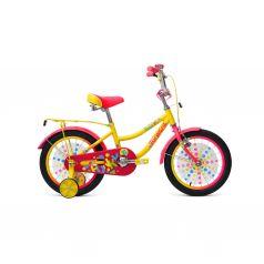 Велосипед Forward FANKY 16, цвет: желтый