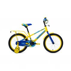Велосипед Forward Meteor 18, цвет: желтый/синий