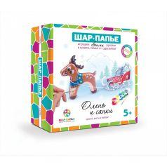 Набор Шар-Папье Олень и санки