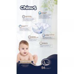 Подгузники Chiaus Cottony Soft (9-14 кг) шт.