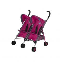 Коляска-трость для двойни кукол Chicco Echo Twin Stroller