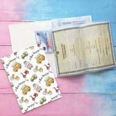 Папка для документов Счастье внутри Летчик панда на 2 комплекта Вояж