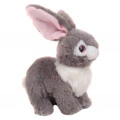 Мягкая игрушка Игруша Кролик серый 32 см