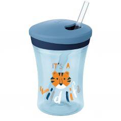 Поильник Nuk Evolution Action cup для мальчиков, с 12 месяцев, цвет: голубой