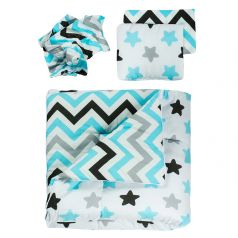 Чудо-Чадо Конверт-одеяло Зигза конверт 85 х 85 см,подушка 23 х 17 см