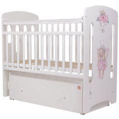 Кровать Топотушки Принцесса Фей, цвет: белый/принт