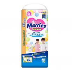 Подгузники-трусики Merries XXL (15-28 кг) шт.