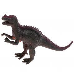Динозавр Играем Вместе Диалоги о животных (темно-коричневый, сиреневая спинка) 25-30 см
