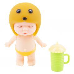 Пупс Игруша желтый 7.5 см