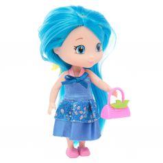 Кукла в комплекте Игруша с голубыми волосами
