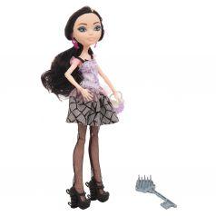 Кукла Zhorya Фиолетовый топ, серая юбка