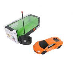 Машинка на радиоуправлении Наша Игрушка Гоночная (оранжевая) 24 см