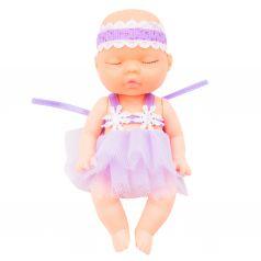Игрушка Игруша Пупс (фиолетовая) 10 см