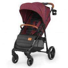 Прогулочная коляска Kinderkraft Grande 2020, цвет: burgundy