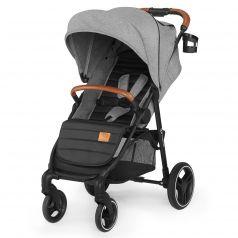 Прогулочная коляска Kinderkraft Grande 2020, цвет: grey