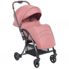 Прогулочная коляска Corol S-6, цвет: розовый