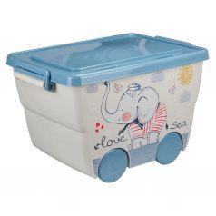 Ящик для игрушек Idea Слоник (23 л)