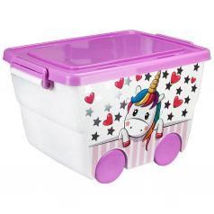 Ящик для игрушек Idea Единорог (23 л)