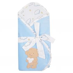Leader Kids Конверт-одеяло Мишка с сердцем