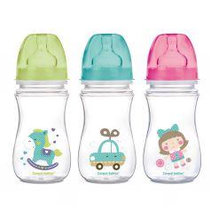 Бутылочка Canpol PP EasyStart Toys полипропилен, 240 мл, цвет: бирюзовый