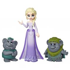 Игровой набор Disney Frozen Холодное сердце 2 Кукла и друг (Эльза)