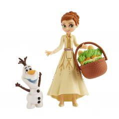 Игровой набор Disney Frozen Холодное сердце 2 Кукла и друг (Анна)