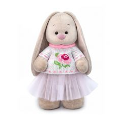 Мягкая игрушка Budi Basa Город Зайка Ми в жаккардовом свитере и юбке 32 см