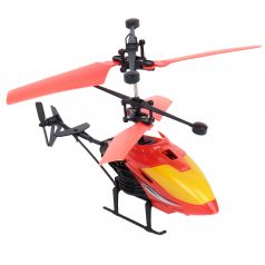 Вертолет на радиоуправлении Игруша красный