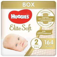 Подгузники Huggies Elite Soft (4-6 кг) шт.