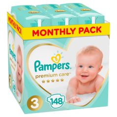 Подгузники Pampers Premium Care (6-10 кг) шт.